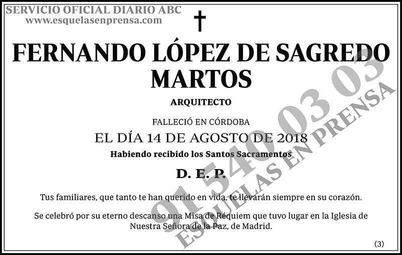 Fernando López de Sagredo Martos